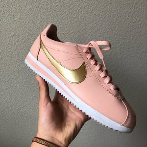 RARE! Pink and gold Nike Cortez